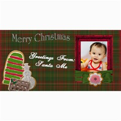Custom 4  X 8  10 Christmas Photo Cards By J A N B   4  X 8  Photo Cards   Psfmqfo46qwm   Www Artscow Com 8 x4 Photo Card - 7