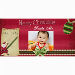 Custom 4  X 8  10 Christmas Photo Cards By J A N B   4  X 8  Photo Cards   Psfmqfo46qwm   Www Artscow Com 8 x4 Photo Card - 9