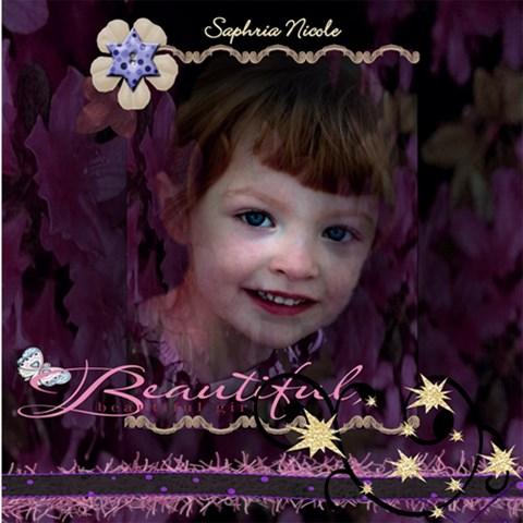 Saphria s Scrapbook By Wendi Giles   Scrapbook Page 8  X 8    I3hucbwj4fon   Www Artscow Com 8 x8 Scrapbook Page - 1