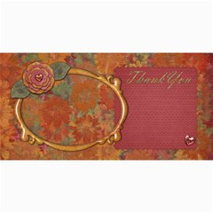 Thanku Card By Shelly   4  X 8  Photo Cards   Phv8jc4upv56   Www Artscow Com 8 x4 Photo Card - 9