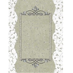 Wedding Card Silver By Shelly   Greeting Card 4 5  X 6    Upvyhxn2m338   Www Artscow Com Front Cover