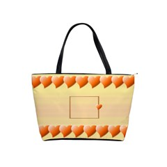 Orange Hearts Bag By Daniela   Classic Shoulder Handbag   Hxyn9dgmvl2p   Www Artscow Com Front