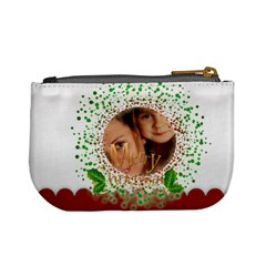 Christmas Bag By Wood Johnson   Mini Coin Purse   Ma94q7h2l5wz   Www Artscow Com Back