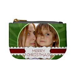 Christmas Bag By Wood Johnson   Mini Coin Purse   Nfyddtuav8qv   Www Artscow Com Front