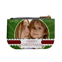 Christmas Bag By Wood Johnson   Mini Coin Purse   Nfyddtuav8qv   Www Artscow Com Back