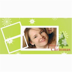 Merry Christmas By Wood Johnson   4  X 8  Photo Cards   Jqmwzwkwvuxv   Www Artscow Com 8 x4 Photo Card - 2