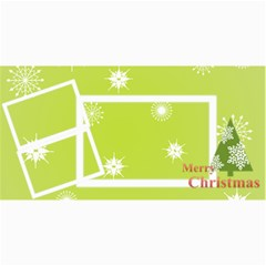 Merry Christmas By Wood Johnson   4  X 8  Photo Cards   Jqmwzwkwvuxv   Www Artscow Com 8 x4 Photo Card - 4