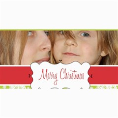 Merry Christmas By Wood Johnson   4  X 8  Photo Cards   Dnu35mwr1yrj   Www Artscow Com 8 x4 Photo Card - 1