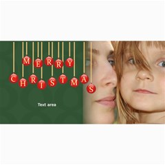Merry Christmas By Wood Johnson   4  X 8  Photo Cards   N1vxlcc44rt7   Www Artscow Com 8 x4 Photo Card - 1