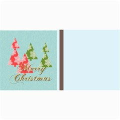 Merry Christmas By Wood Johnson   4  X 8  Photo Cards   9c3509q7expa   Www Artscow Com 8 x4 Photo Card - 8