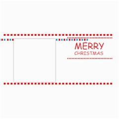 Merry Christmas By Wood Johnson   4  X 8  Photo Cards   1htpqdmg0411   Www Artscow Com 8 x4 Photo Card - 8