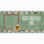 Quilted 8x4 Holiday/Ocassion Card 1 - 4  x 8  Photo Cards