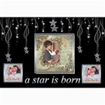 A Star is Born Newborn Baby Poster - Collage Poster 20  x 30