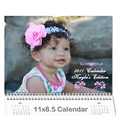 Great Grandma s Calender By Alicia   Wall Calendar 11  X 8 5  (12 Months)   Jchsef8ix07z   Www Artscow Com Cover