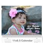 Great-Grandma s calender - Wall Calendar 11  x 8.5  (12-Months)