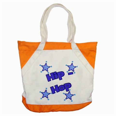 Hip Hop Dance Bag By Danielle Christiansen   Accent Tote Bag   G33ggjvcixaa   Www Artscow Com Front