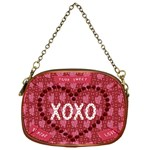 hugs and kisses purse for valentines gift - Chain Purse (One Side)