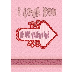 My Cup Runneth Over With Love Card By Danielle Christiansen   Greeting Card 5  X 7    7zfhvqobamoc   Www Artscow Com Front Inside
