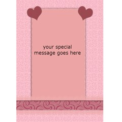 My Cup Runneth Over With Love Card By Danielle Christiansen   Greeting Card 5  X 7    7zfhvqobamoc   Www Artscow Com Back Inside