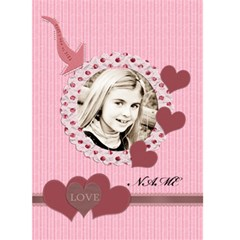 This Is Who I Love Valentines Card By Danielle Christiansen   Greeting Card 5  X 7    Bhj3owcg88dm   Www Artscow Com Front Cover