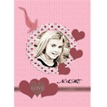 this is who I love valentines card - Greeting Card 5  x 7