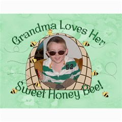 Grandma Loves Her Sweet Honey Bee 2011 By Chere s Creations   Wall Calendar 11  X 8 5  (12 Months)   Drfe8kmgh364   Www Artscow Com Month