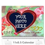 Bleeding Heart - Wall Calendar 11 x 8.5 (12-Months)