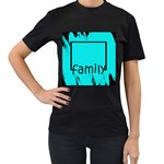 family shirt - Women s T-Shirt (Black)