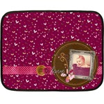 Lots of love blanket - Fleece Blanket (Mini)
