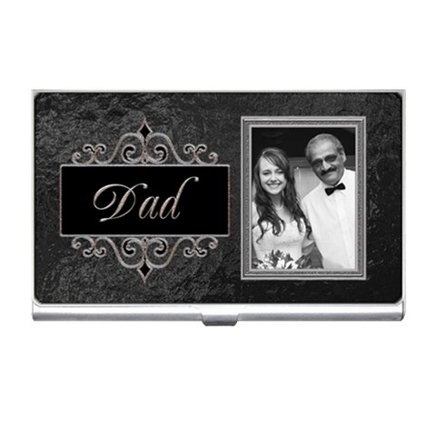 Dad & Me Business Card Holder By Lil    Business Card Holder   Ld6nn33lpqx1   Www Artscow Com Front