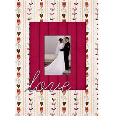 Love Valentines Card By Sheena   Greeting Card 5  X 7    1pfe1r6tqc5t   Www Artscow Com Front Cover