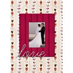 love Valentines Card - Greeting Card 5  x 7