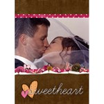 Sweetheart Valentines Card - Greeting Card 5  x 7