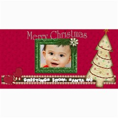Custom 4  X 8  10 Christmas Photo Cards By J A N B   4  X 8  Photo Cards   Nplj08ynt70e   Www Artscow Com 8 x4 Photo Card - 2