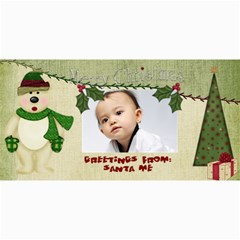Custom 4  X 8  10 Christmas Photo Cards By J A N B   4  X 8  Photo Cards   Nplj08ynt70e   Www Artscow Com 8 x4 Photo Card - 4