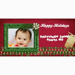 Custom 4  X 8  10 Christmas Photo Cards By J A N B   4  X 8  Photo Cards   Nplj08ynt70e   Www Artscow Com 8 x4 Photo Card - 5