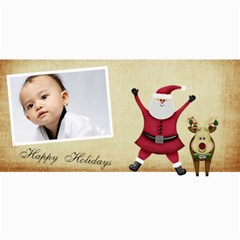 Custom 4  X 8  10 Christmas Photo Cards By J A N B   4  X 8  Photo Cards   Nplj08ynt70e   Www Artscow Com 8 x4 Photo Card - 6