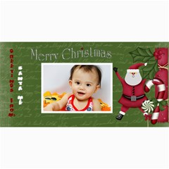 Custom 4  X 8  10 Christmas Photo Cards By J A N B   4  X 8  Photo Cards   Nplj08ynt70e   Www Artscow Com 8 x4 Photo Card - 8