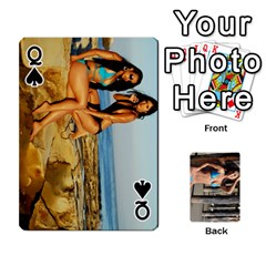 Queen Bikini Cards By Kesma   Playing Cards 54 Designs   Kx3ygishvibr   Www Artscow Com Front - SpadeQ