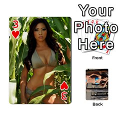 Bikini Cards By Kesma   Playing Cards 54 Designs   Kx3ygishvibr   Www Artscow Com Front - Heart3