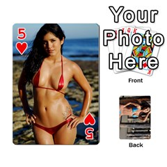 Bikini Cards By Kesma   Playing Cards 54 Designs   Kx3ygishvibr   Www Artscow Com Front - Heart5