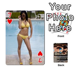 Bikini Cards By Kesma   Playing Cards 54 Designs   Kx3ygishvibr   Www Artscow Com Front - Heart7