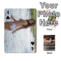 Bikini Cards By Kesma   Playing Cards 54 Designs   Kx3ygishvibr   Www Artscow Com Front - Spade4