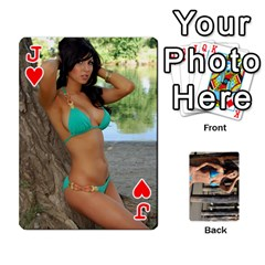 Jack Bikini Cards By Kesma   Playing Cards 54 Designs   Kx3ygishvibr   Www Artscow Com Front - HeartJ