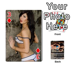 Bikini Cards By Kesma   Playing Cards 54 Designs   Kx3ygishvibr   Www Artscow Com Front - Diamond3