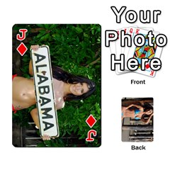 Jack Bikini Cards By Kesma   Playing Cards 54 Designs   Kx3ygishvibr   Www Artscow Com Front - DiamondJ