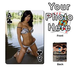 Ace Bikini Cards By Kesma   Playing Cards 54 Designs   Kx3ygishvibr   Www Artscow Com Front - ClubA