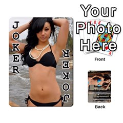 Bikini Cards By Kesma   Playing Cards 54 Designs   Kx3ygishvibr   Www Artscow Com Front - Joker1