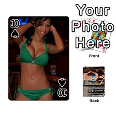 Bikini Cards By Kesma   Playing Cards 54 Designs   Kx3ygishvibr   Www Artscow Com Front - Spade10