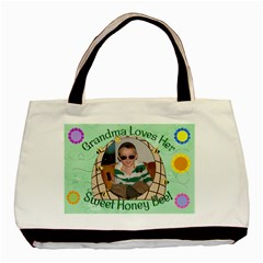 Grandma s Honey Bee Double Sided By Chere s Creations   Basic Tote Bag (two Sides)   6dx95au6ek40   Www Artscow Com Front